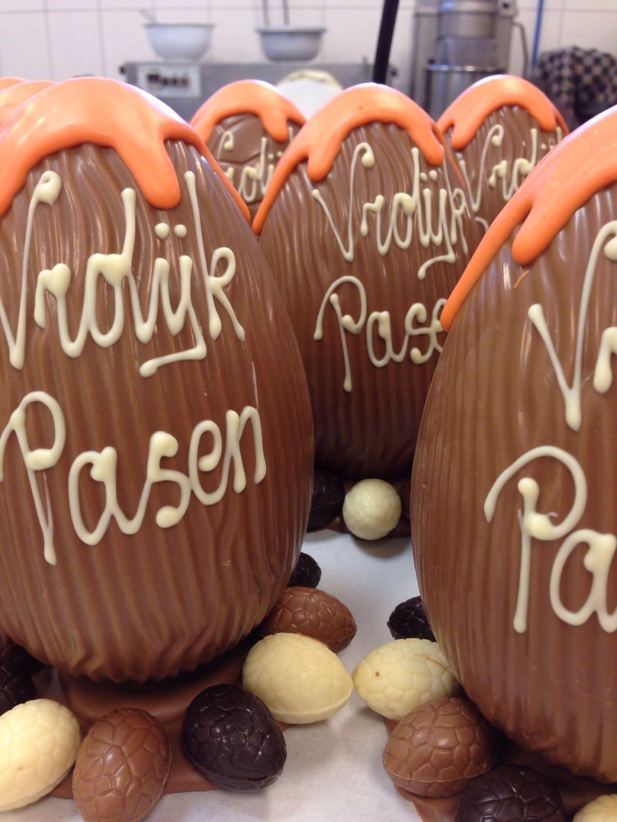 chocolaterie bruns pasen paasei paashaas