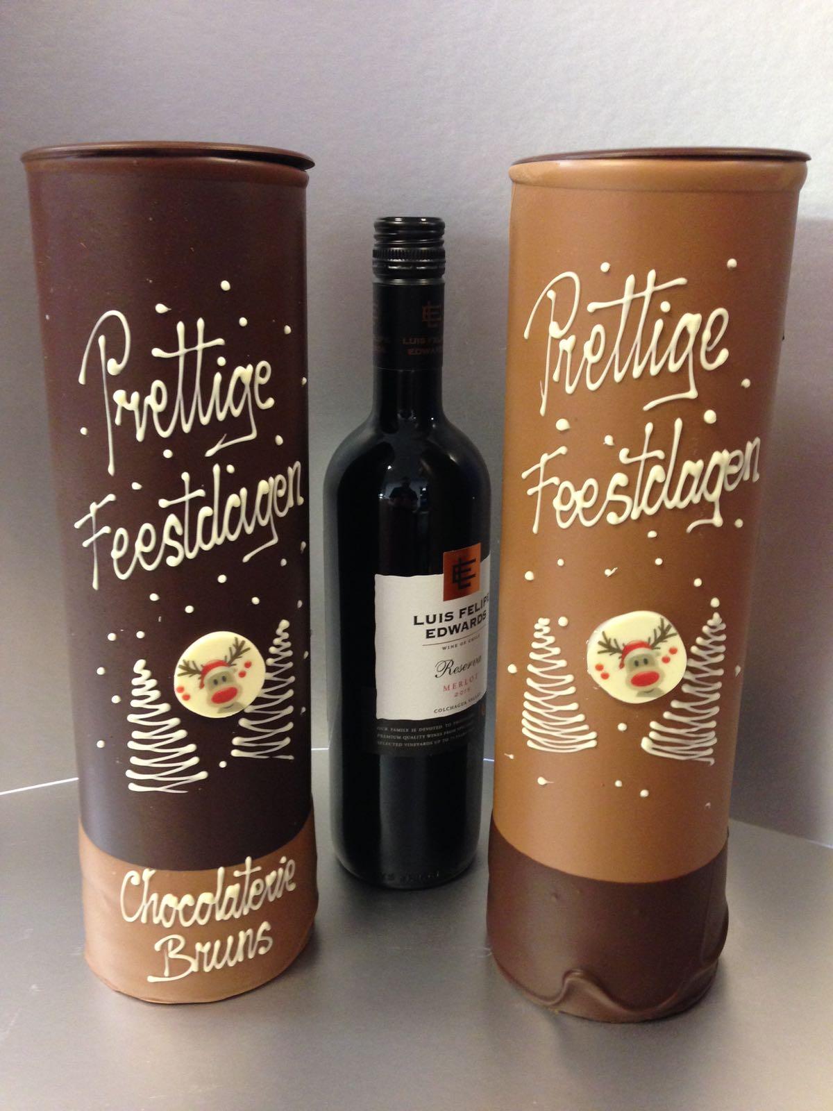 chocolaterie bruns kerst chocola kerstman